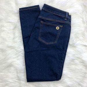 Michael Kors Dark Wash Stretch Skinny Jeans